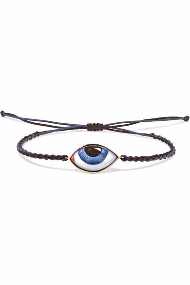 custom wholesale 14K rose gold enamel bracelet