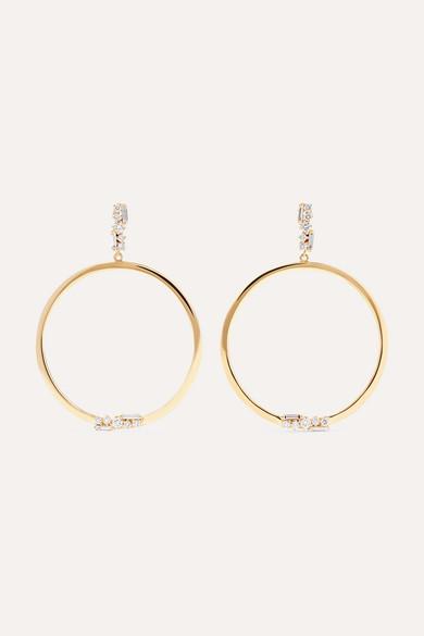 custom wholesale 18k gold AAA Cubic Zirconia earrings OEM silver jewelry factory