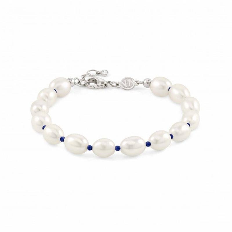 America custom women's jewelry wholesaler OEM ODM 925 bracelet in sterling silver with pearls