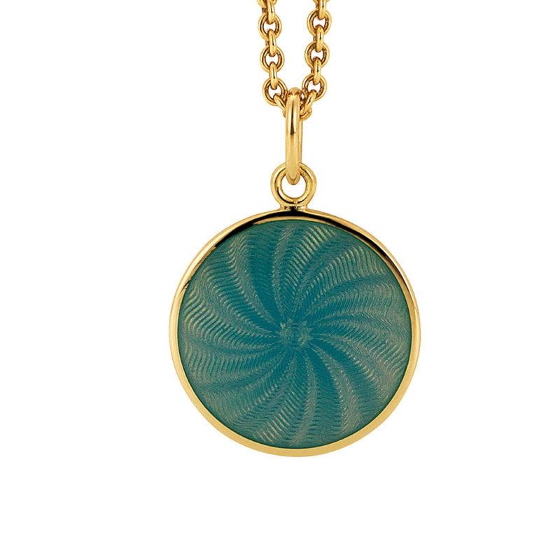 Custom 18k gold necklace in 925 sterling silver fine jewelry OEM ODM factory