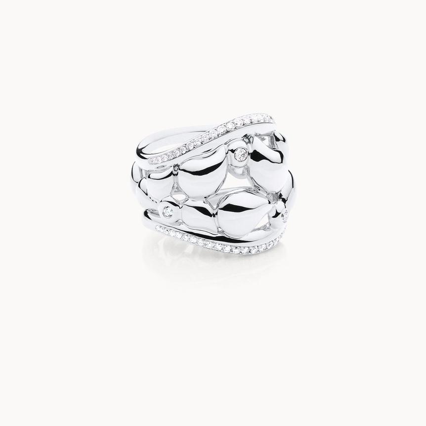 Custom OEM ODM rhodium gold plated ring wholesale jewelry