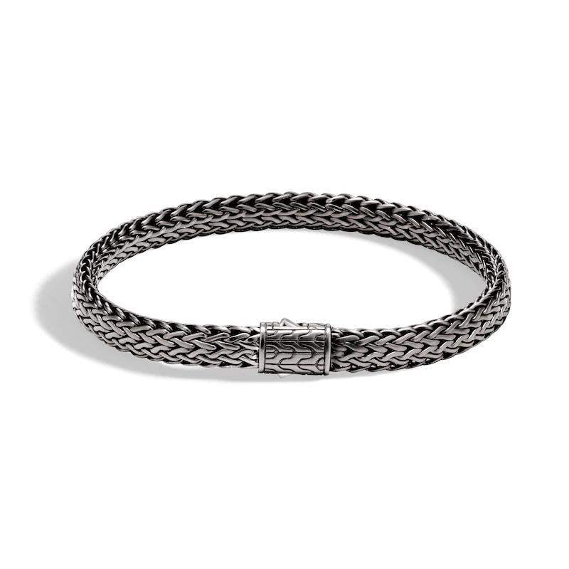 Wholesale Custom design OEM/ODM Jewelry Men's Classic Chain Bracelet Sterling Silver wholesale rhodium plated jewelry OEM ODM