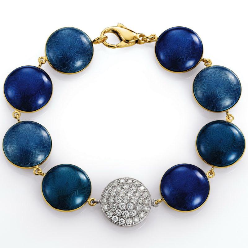 Custom high quality silver amd gold 18k bracelet jewelry OEM manufacturer