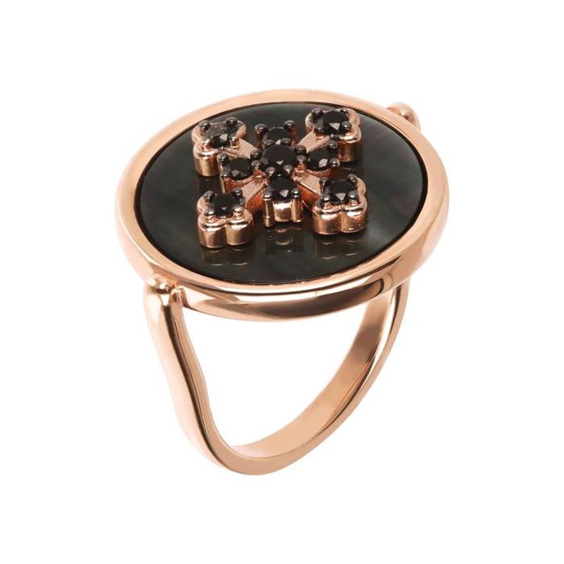 Custom jewelry manufacturers China, Design made Alba Ring Pavé Cross wholesaler