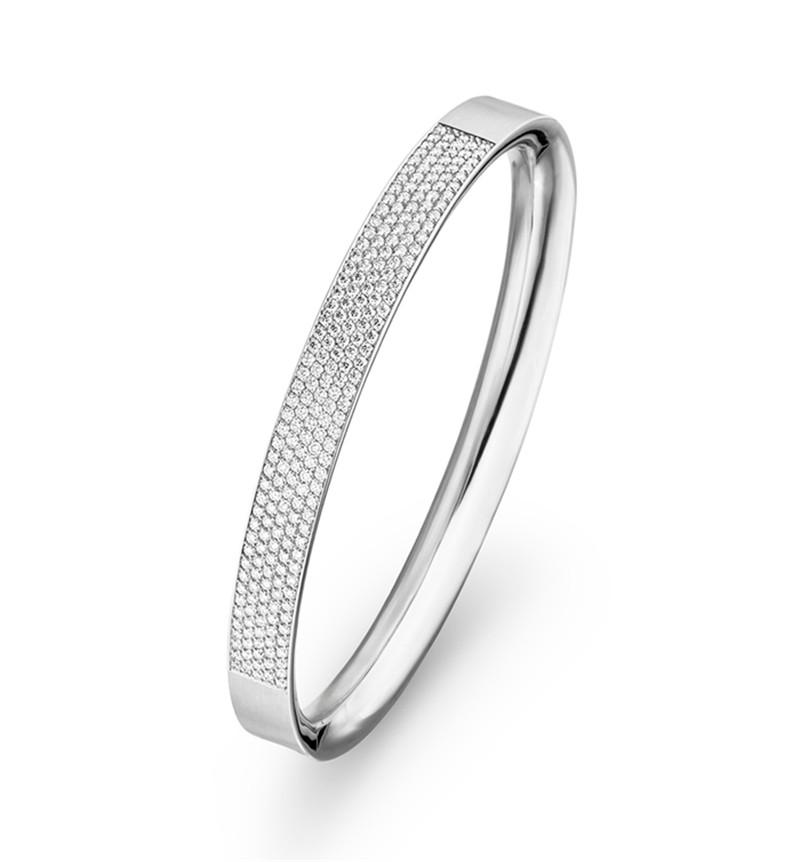 Custom made sivler Bracelet rhodium jewelry manufacturers