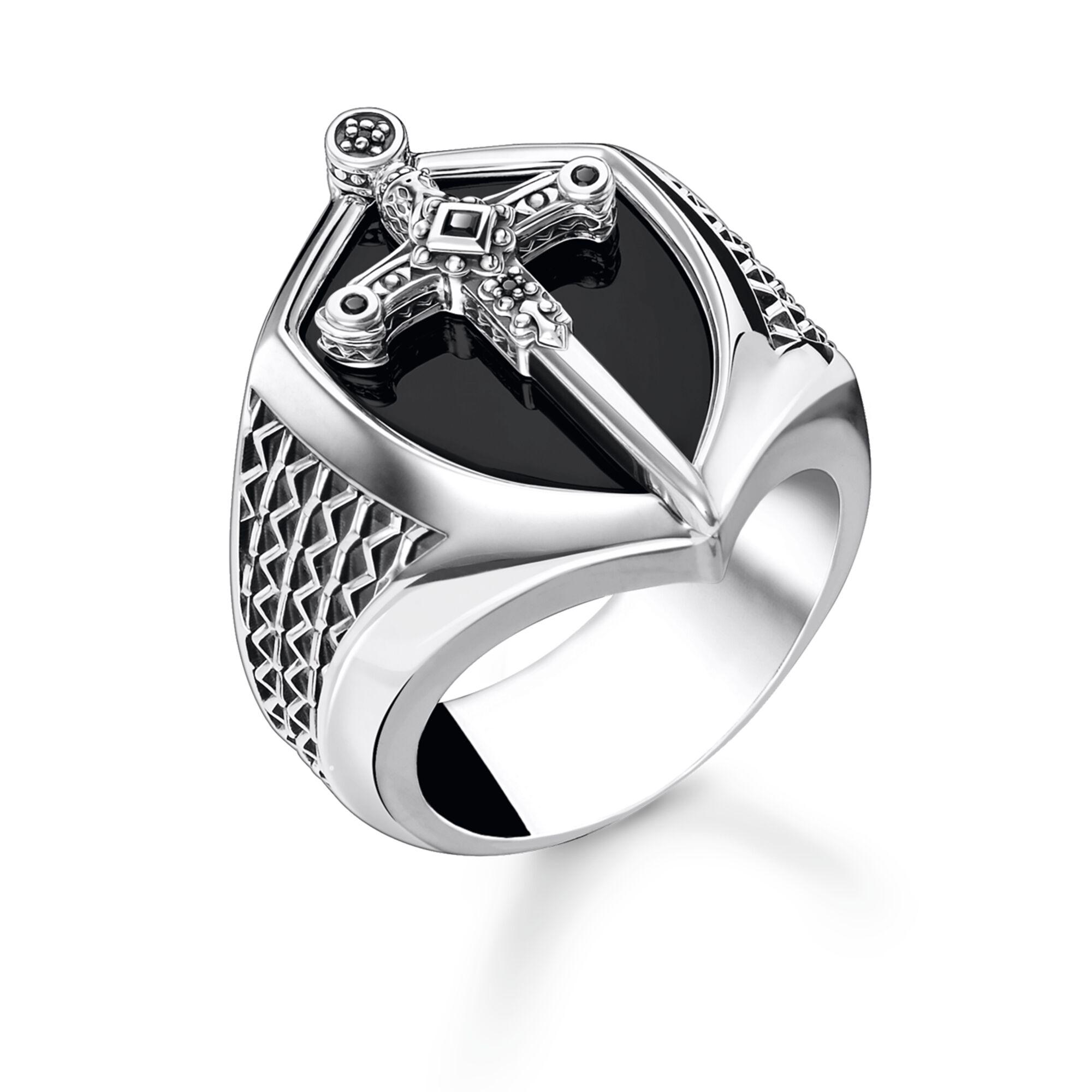 Wholesale Custom mens Black zirconia ring OEM/ODM Jewelry made of blackened 925 Sterling silver OEM jewelry factory