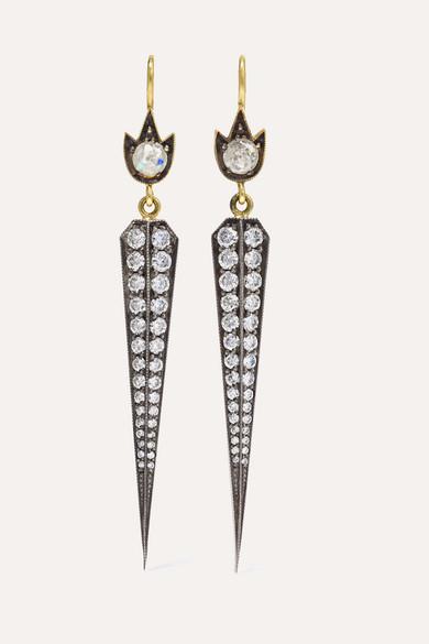 jewelry Custom silver custom wholesale 18K gold sterling silver diamond earrings