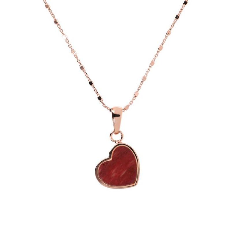 Customised designed women  mini heart pendant necklace jewellery wholesaler