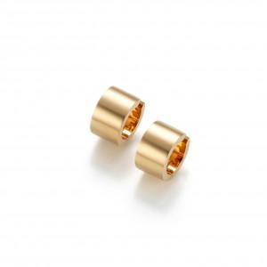 Wholesale Design gold OEM/ODM Jewelry earrings custom girls sterling silver jewelry supplier