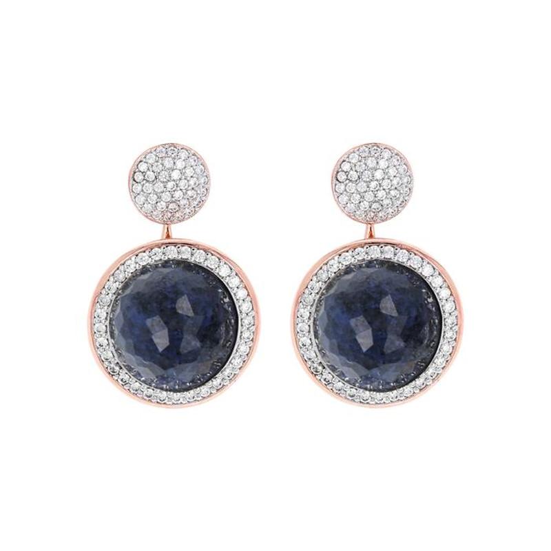 Fashion Jewellery Online Custom Made Milanese Drop Stone Earrings wholesaler