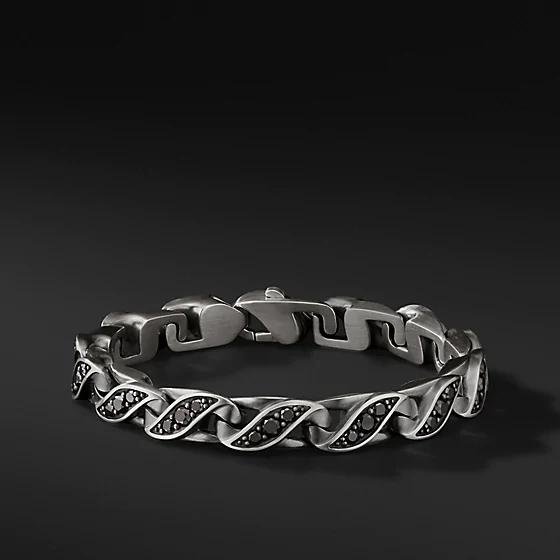 Wholesale OEM 925 sterling silver mens OEM/ODM Jewelry bracelet make custom designed jewelry