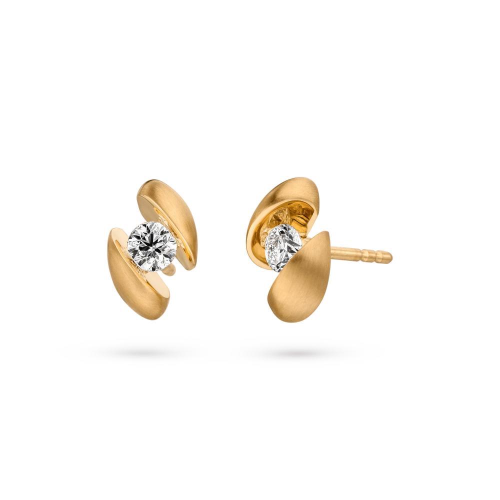 Wholesale OEM/ODM Jewelry Sterling Silver Cubic Zirconia earring stud custom wholesaler