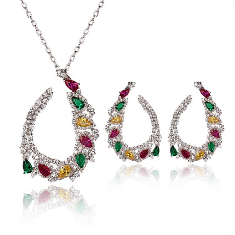Custom wholesale Gemstone Sets Jewelers   Silver Jewelry Custom   Ladies's Jewelry Design Wholesale