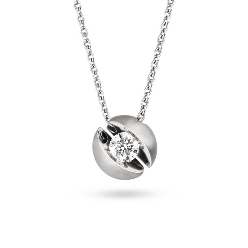 custom cz pendants neckalce silver jewelry factory