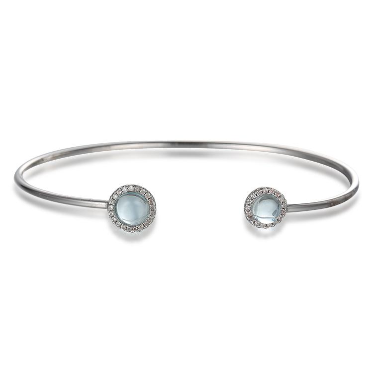 Custom wholesale Sterling Silver Bracelets Supplier Wholesale | Moissanite Fahion Jewelry Design | Women's Jewelry Custom