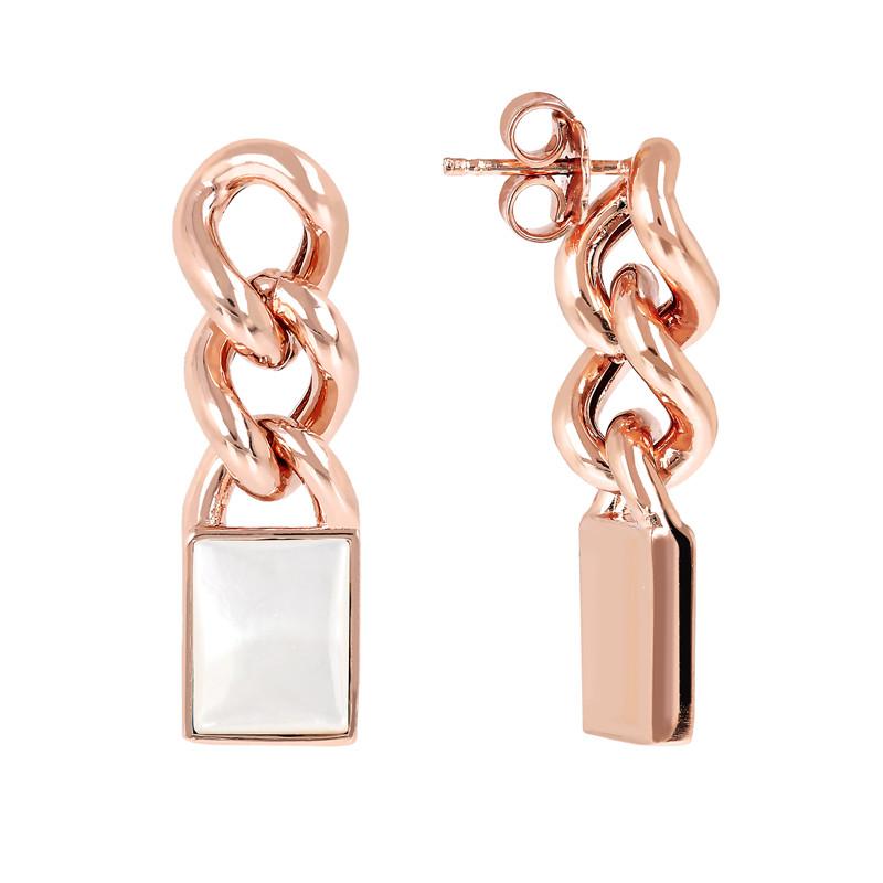 custom made OEM  Cabochon Stone Dangle Earrings jewelry manufacturer wholesaler
