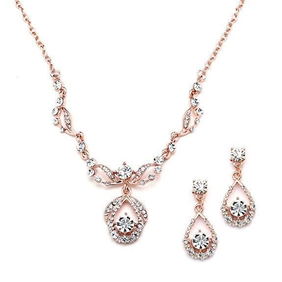 Wholesale 14K Gold Sterling Silver Diamond Jewelry Set