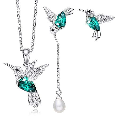 Wholesale Apatite Jewelry Set OEM ODM Factory 14K White Gold