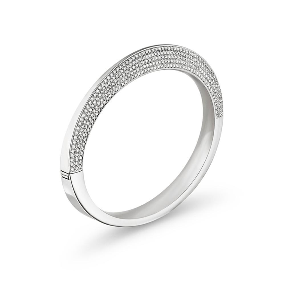 Sterling Silver & 18K Yellow Gold Silver Jewellery Manufacutrer Caviar Stretch Bracelet custom made